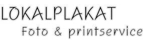 WebSyd Lokalplakat og Printservice